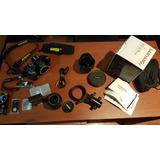 Camara Nikon D5300 + Lente Ojo De Pez + Pano Head Foto 360