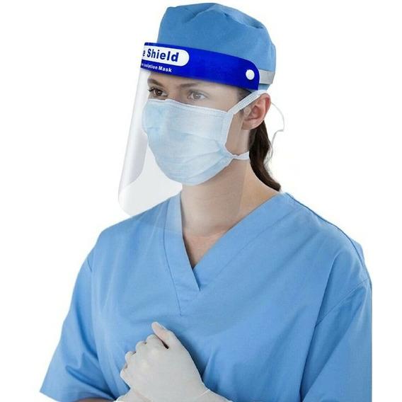 Mascara Protector Cara Proteccion Facial   Barbijo C/acetato