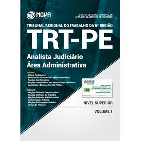 Apostila Trt Pe 2018 Analista Judiciário Área Administrativa