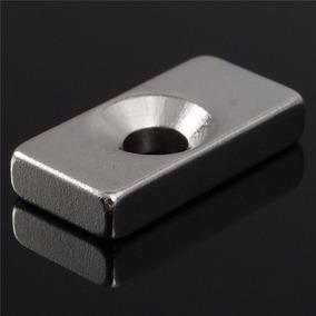 Imã De Neodímio / Super Forte / 20mm X 10mm X 4mm - 1 Peça