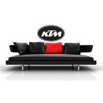 Ktm Bici De La Suciedad Logo Deportes Extremos Decoración D