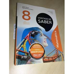 Livro Do Profº Vontade De Saber Matemática 8º Ano - Novo