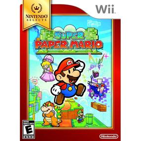 Super Paper Mario Original Nintendo Wii