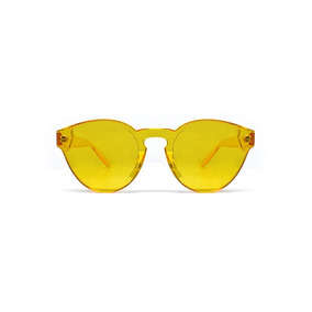 Lente De Sol Transparente Color Amarillo, Glasses G3, P6400