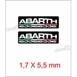 Emblema Adesivo Resinado Fiat Abarth Esseesse Coluna Rs07