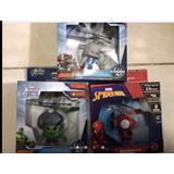 Heli Ball Y Cuerpo Marvel Dron Set Doble Hulk Y Luz