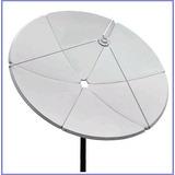 Antena Parabolica De Chapa 1,50mts Brasilsat Frete Grátis