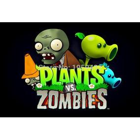 Bonecos Plantas Vs Zumbis