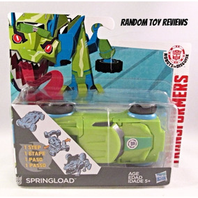 Transformers Springload Robot In Disguise 1 Paso Hasbro