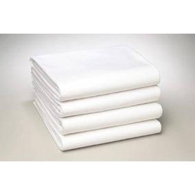 Procare Sábanas Planas Hospitalarias Blanco Paquete De 4