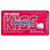 Kiss Mentos Morango C/ 50 Unidades