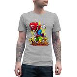 Polera Super Mario Bros Chibi