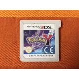 Cartucho De Juego Para Nintendo 3ds Pokemon Y Eur