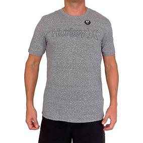 Camiseta Hurley Tri-blend Sueter De Hombres Estilo Casual Fb 3f6826eb7bc