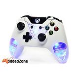 Azul De Los Cráneos Xbox Uno Modded Controlador De Ilumin