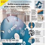 Disco De Serra Mármore Corte Em Madeira Bosch (05unid)