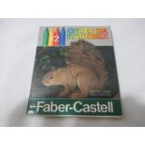 Antigo Giz De Cera Faber Castell Cores Da Natureza Anos 80