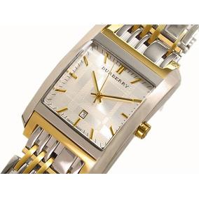Reloj Burberry Original Zafiro Chapa De Oro Cambio Iphone 7