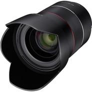 Lente Rokinon Af 35mm F/1.4 Fe Sony E-mount C/ Recibo