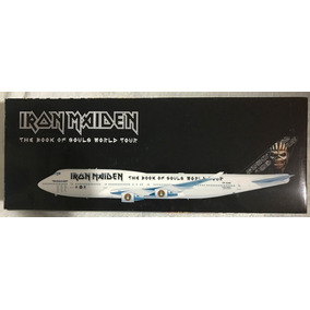 Ed Force One Escala 1:200- Iron Maiden Avião- Book Of Souls