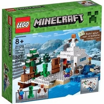 Lego Minecraft The Snow Hideout 21120- Giro Didactico