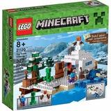 Lego Minecraft The Snow Hideout 21120- Giro Didactico