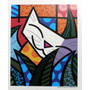 Poster Original Romero Britto Behind The Bushes Medidas 85 X