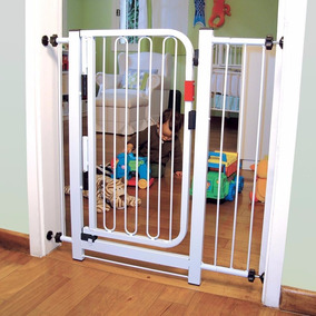 Grade De Porta Para Crianças E Pets Extensor De 10cm Grátis