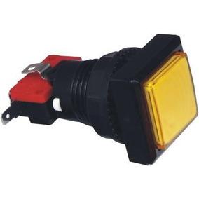 Boton Cuadrado Luminoso+led+micro Nuevo