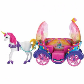 Barbie Fantasia Carruagem Com Princesa - Mattel