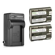 Cargador + 2 Baterías Bp-511 Para Canon Eos 20d 30d 40d Kastar