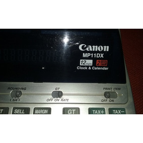 Calculadora / Sumadora Canon Mp11dx