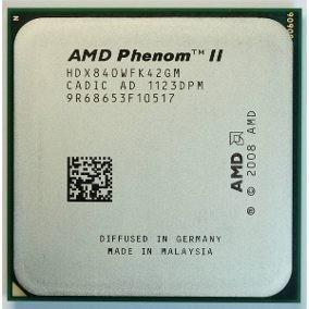 Processador Amd Phenom I I X4 840 3.2ghz Quad Core Am2+/ Am3