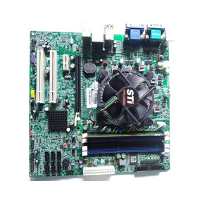 Kit Placa Mãe Sti Q57h-am Core I5-650 3.2 Ghz + 4gb Ddr3
