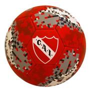 Pelota Futbol Independiente Rojos Nº5 Drb Dribbling Cocida