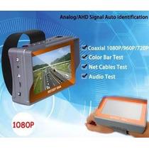 Testador Monitor 4.3 Camera Ahd E Analogica - Cftv