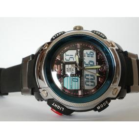 Reloj Alike Doble Reloj ,alarma,fechador Cronos, Subasta $1