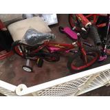Bicicleta Aro 16 Roja Envio Gratis Exhibition De Tiend