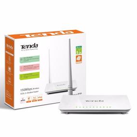 Modem Router Tenda 150mbps Wireless Adsl 2