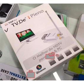Usb Tv Digital Original P/ Windows, Pc, Notebook Ou Tablet