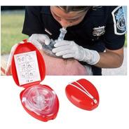 Mascara Resucitador Rcp Rescate Primeros Auxilios Emergencia