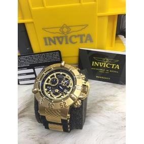 Relógio Invicta 18526 Skeleton Preto Prova Dagua Wq00307
