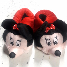 Pantufa Disney Minnie Infantil Adulto Atacado Ótimo Presente