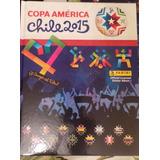 Album Copa America 2015 Vacio Tapa Dura Unico Importado