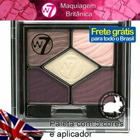 Paleta De Sombras Opacas Neutras 5 Cores Matte W7 Cosmetics
