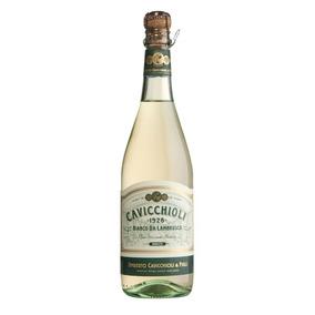 Vino Blanco Espumoso Italiano Lambrusco 750ml Cavicchioli