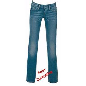 Jeans Recto Pantalón Juvenil Talla 12 Casual Corte Cadera