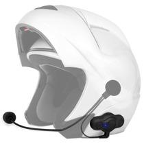 Intercomunicador Bluetooth Moto Capacete Mp3 Gps Unitário