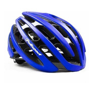 Capacete Ciclism Mtb Speed Polisport Light Road Azul M 55-58