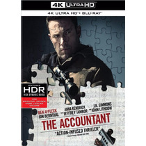 The Accountant El Contador Pelicula En 4k Ultra Hd + Blu-ray